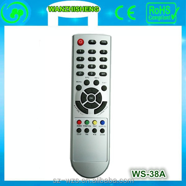 plastic case iptv /tv/led remote control hot selling in Southeast Asia