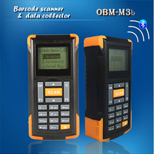 mini bluetooth barcode scanner OBM-M3B rugged Portable stock inventory data terminal