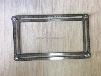 Multi Angle Aluminum Ruler Measures All Angles Angle Izer Template