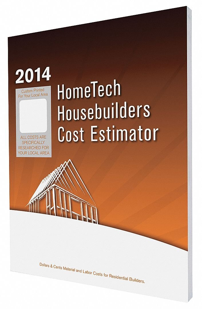 Cost Estimating Book, Residential Construction, English, OK, Tulsa and Vicinity, Paperback