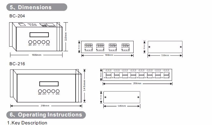 16channel Dmx Digital Controller Ethernet Spi Ethernet To Spi/dmx Pixel  Light Controller Led Matrix Artnet Dmx Controller Bc-216 - Buy Led Matrix
