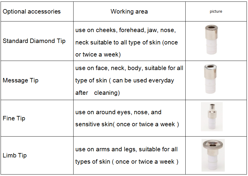 Diamond microdermabrasion machine promotion classical gift set packaging