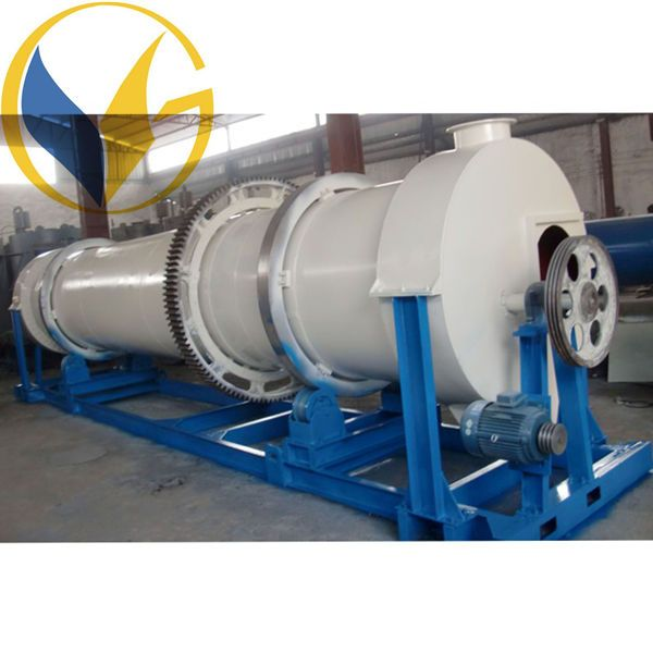 Low Investment Lime Power Mechanical Triple Drum Rotary Dryer Dryers Machine Farg'ona Project Uzbekistan installed