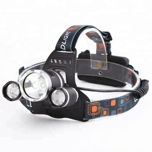 CYSHMILY High Power 4 Mode Rechargeable Waterproof Headlamp Set 3 T6 Led Head Light Flashlight Headlamp For Outdoor Hunting