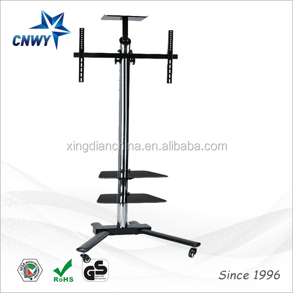 China manufacturer mordern tv trolley tempered glass tv table glass <strong>set</strong> <strong>up</strong> <strong>box</strong> stand