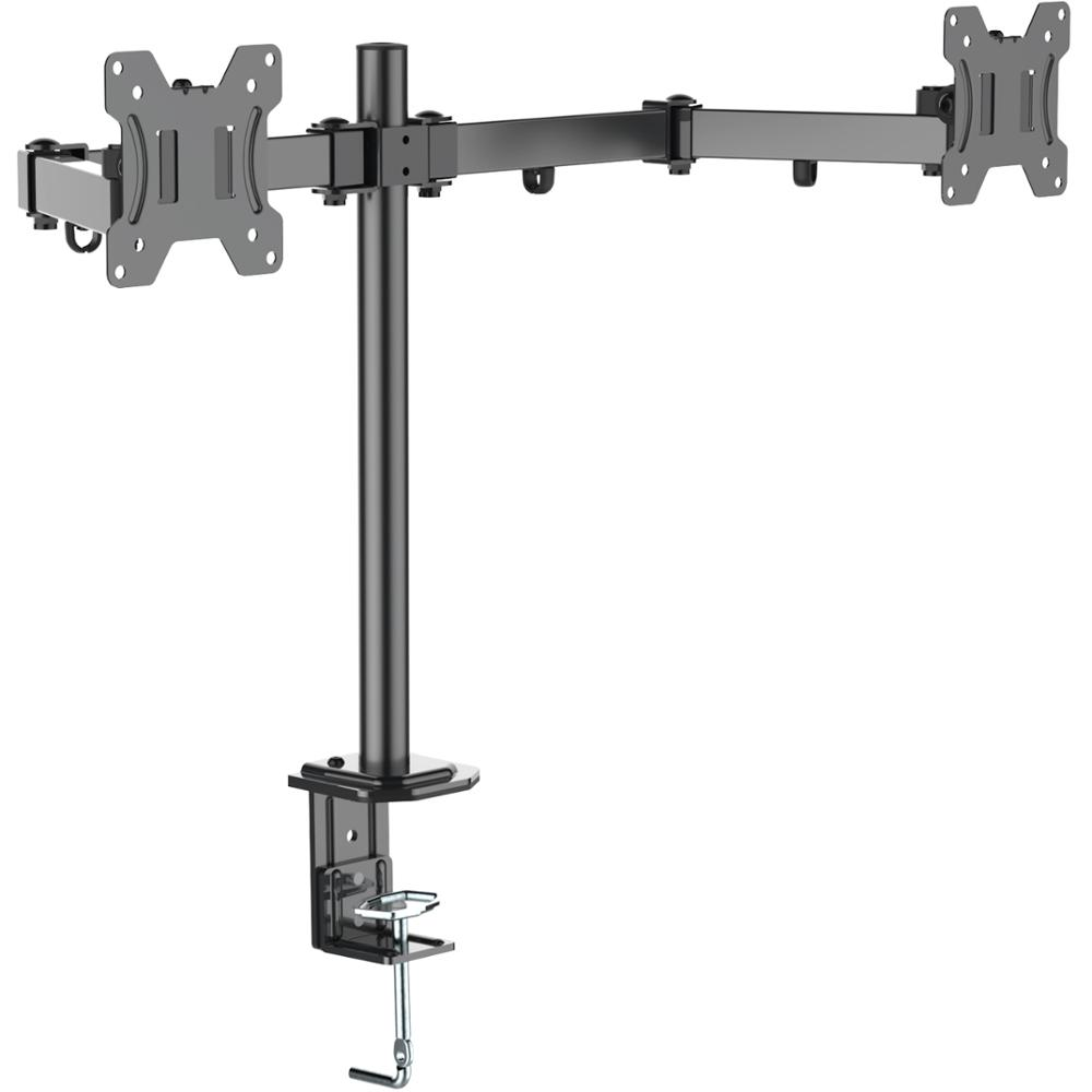 Hot Selling Computer Economical Dual Monitor Mount 13-27 inch LCD Monitor desk monitor mount