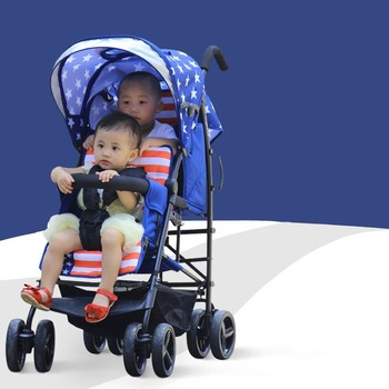 Twin Stroller Double Stroller Twin Tandem Stroller Lightweight Twin Baby Buggy Buy Twin Stroller Double Stroller Twin Pushchair Product On