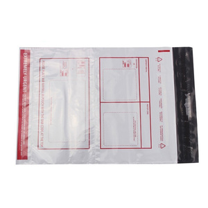Dhl Customized Express Plastic Bag With Pouch - Buy Plastic
