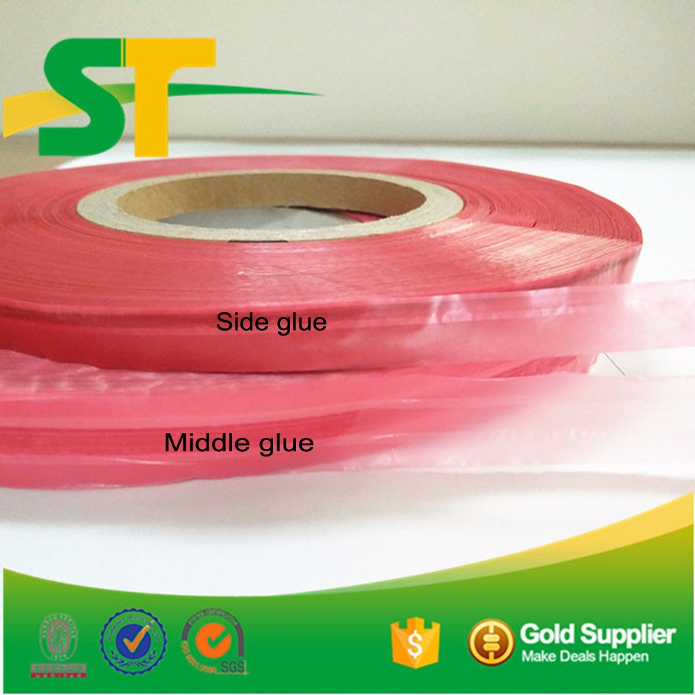 Resealable Double Side Adhesive Bag Sealing Tape To Seal