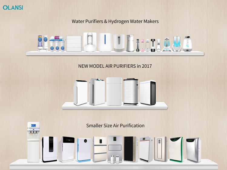 olansi healthcare product  air purifier water based air filter home purifier air purifier portable