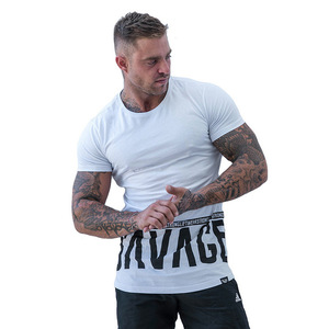 New High Quality Breathable Men Gym t shirt
