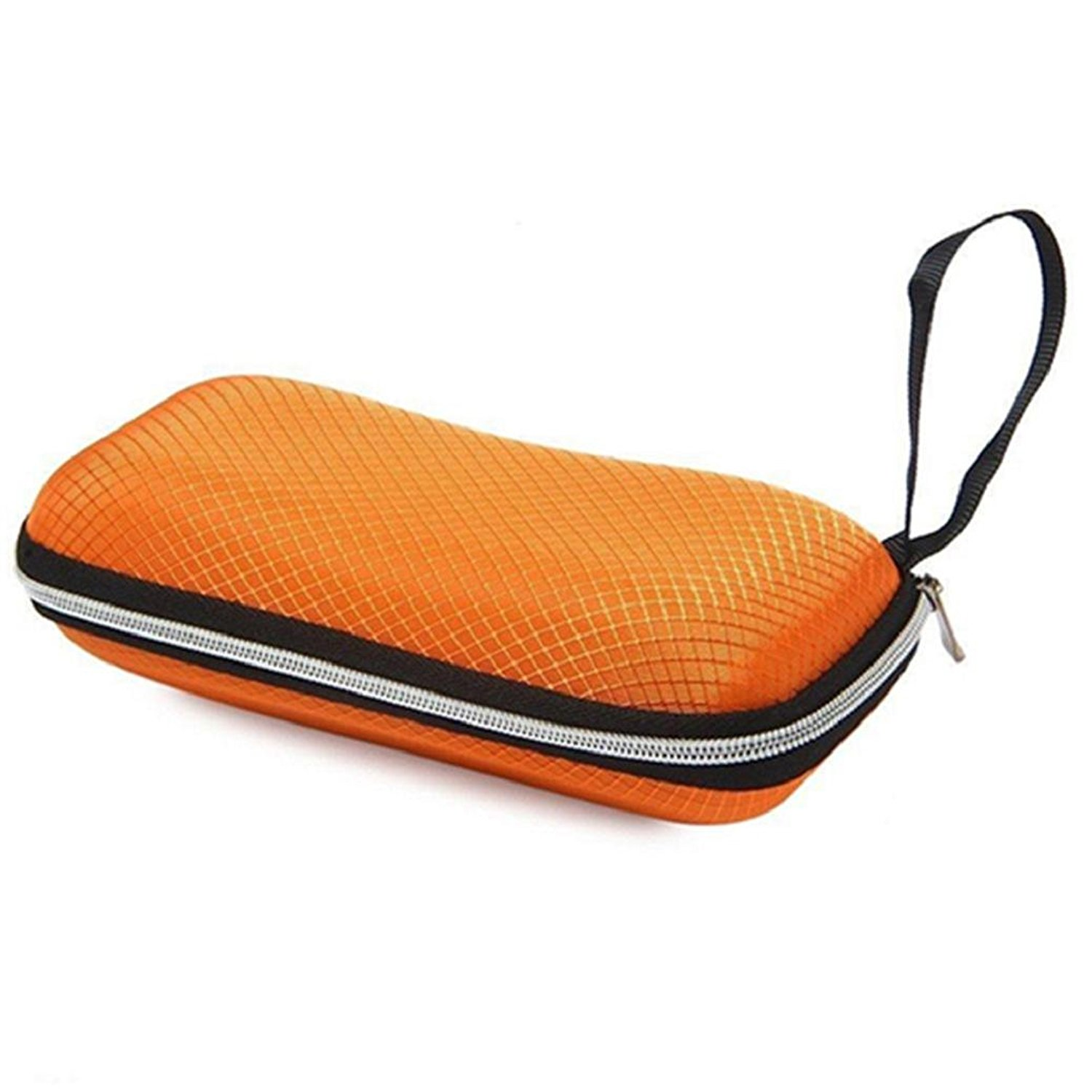 Afco Portable Zipper Glasses Case Hard Shell Protects Eyewear Box for Sunglasses
