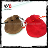 New fashional custom velvet drawstring pouch bag,cell phone pouches,fancy mobile phone pouch