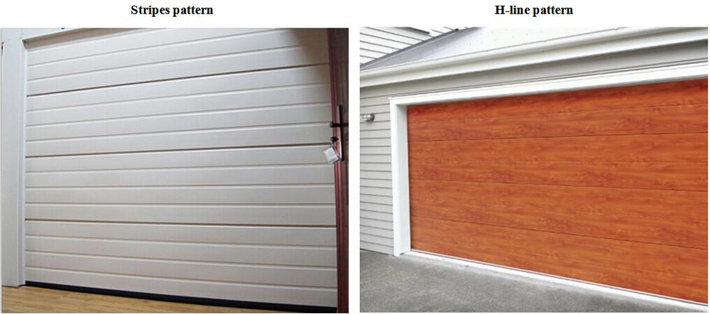 rear torsion springs automatic garage door low headroom garage door double belt sectional garage