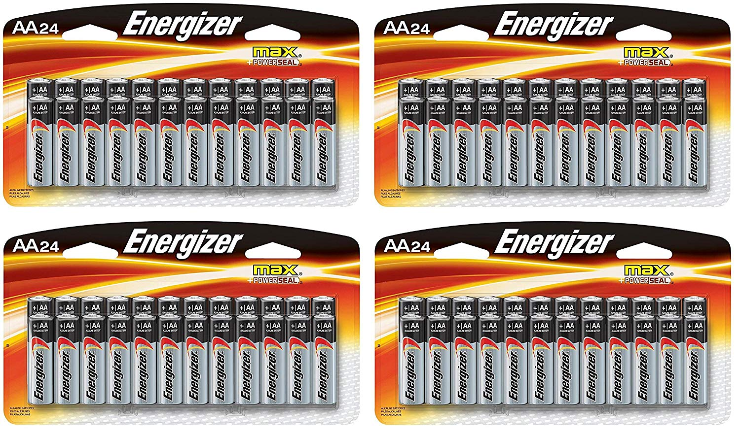 Buy Energizer Aa Max Alkaline E91 Batteries Made In Usa Expiration E92 Aaa Bp 4 Double A Battery E91bp 24 Pack