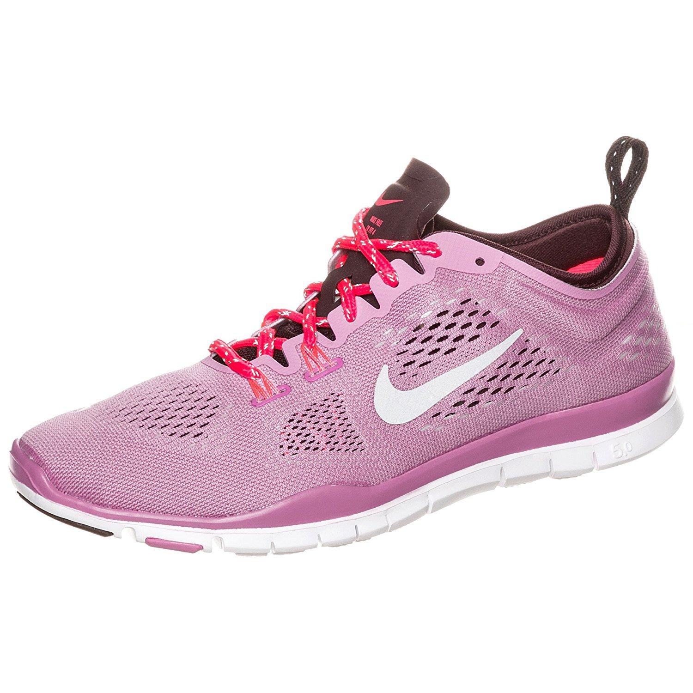 timeless design f951c 7155f Get Quotations · Nike Womens Free Fit 4 Team Trainers 11 US Lt  Magenta Burgundy (Lt Magenta