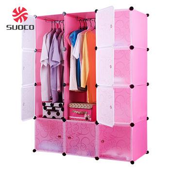 Waterproof Bedroom Cheap 12 Door Pink Plastic Storage Cabinet Wardrobe  sc 1 st  Alibaba Wholesale & Waterproof Bedroom Cheap 12 Door Pink Plastic Storage Cabinet ...
