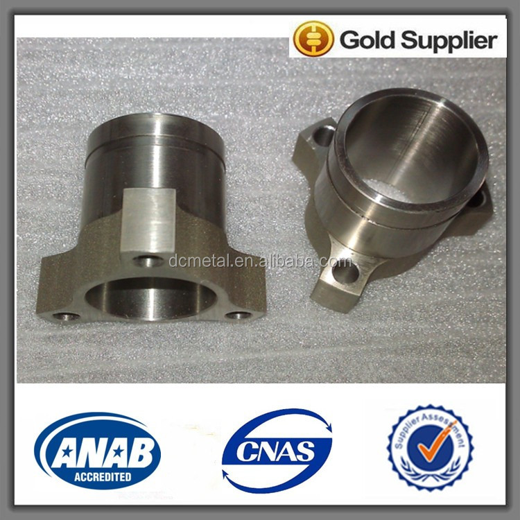 aluminum alloy bearing housing turning and milling parts