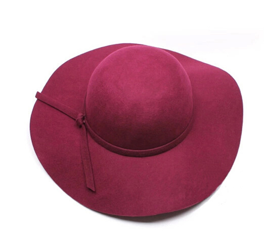 Get Quotations · Red Blue Khaki 3 Color Summer Wearing Women Elegant Hat  Extended Brim Elastic Crown Sun Hats 84a7ef7124c