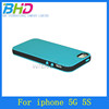 PC TPU Case Durable Color Double Case for iPhone 5 5G 5TH