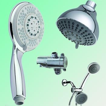 Epa Watersense Handheld & Fixed Shower Heads Combo Sets Water Saving ...