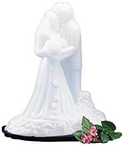 "Carlisle SBG102 Bride and Groom Ice Sculpture Mold, Single Use, 22"" Length x 14"" Width x 28"" Height"