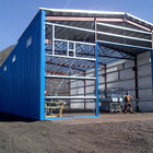 china cheap portable workshop frames house prefabricated steel structure building