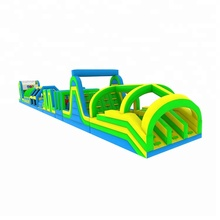 Giant inflatable obstacle course cheap custom equipment for adults