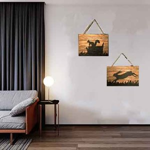 Art minds designs wholesale cheap laser cut wood craft diy 3d wall sticker mdf wall art