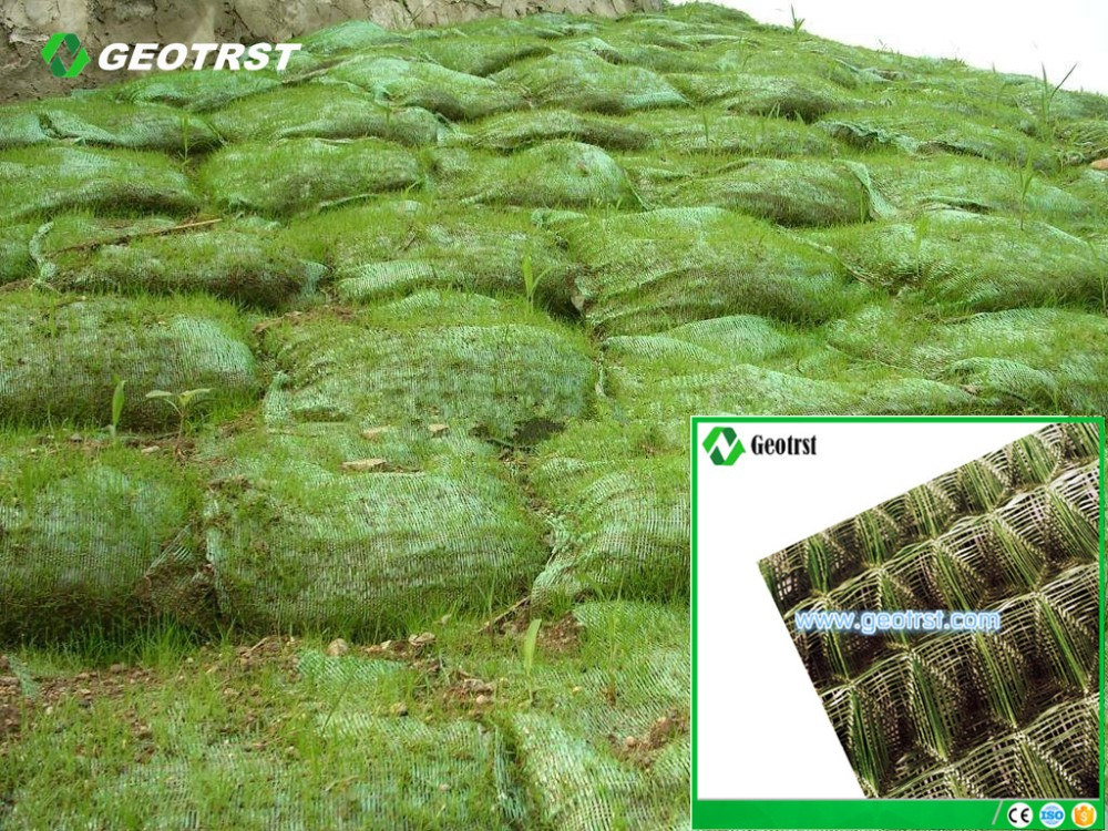 3d Erosion Control Mat And Plastic Drainage Geomat For