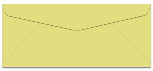 Domtar Colors - Earthchoice No. 10 Envelopes - CANARY - 500 PK