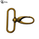 China wholesale bag accessories spring trigger nickel metal lobster claw snap hook