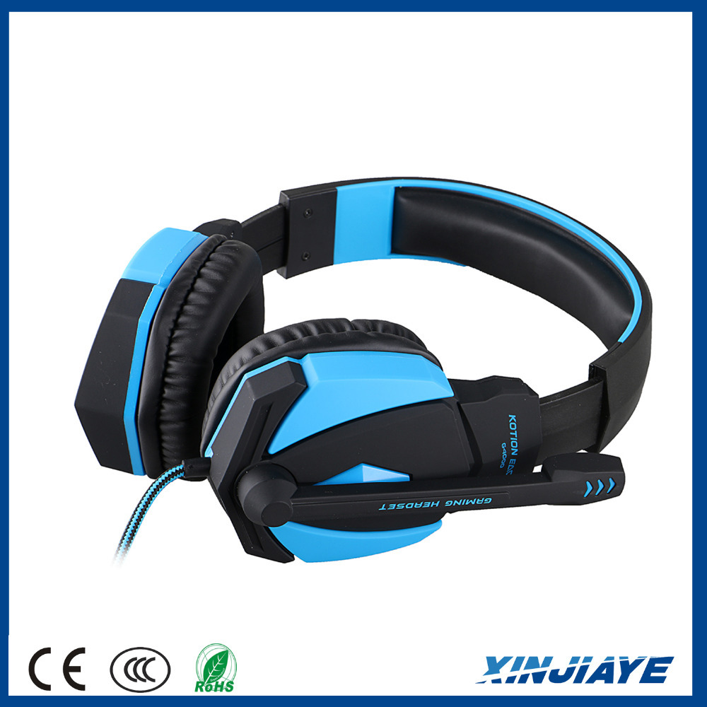 Kotion EACH G4000 PC Headphone USB Stereo Gaming Headset with Microphone LED Light for PS3 PC Gamer