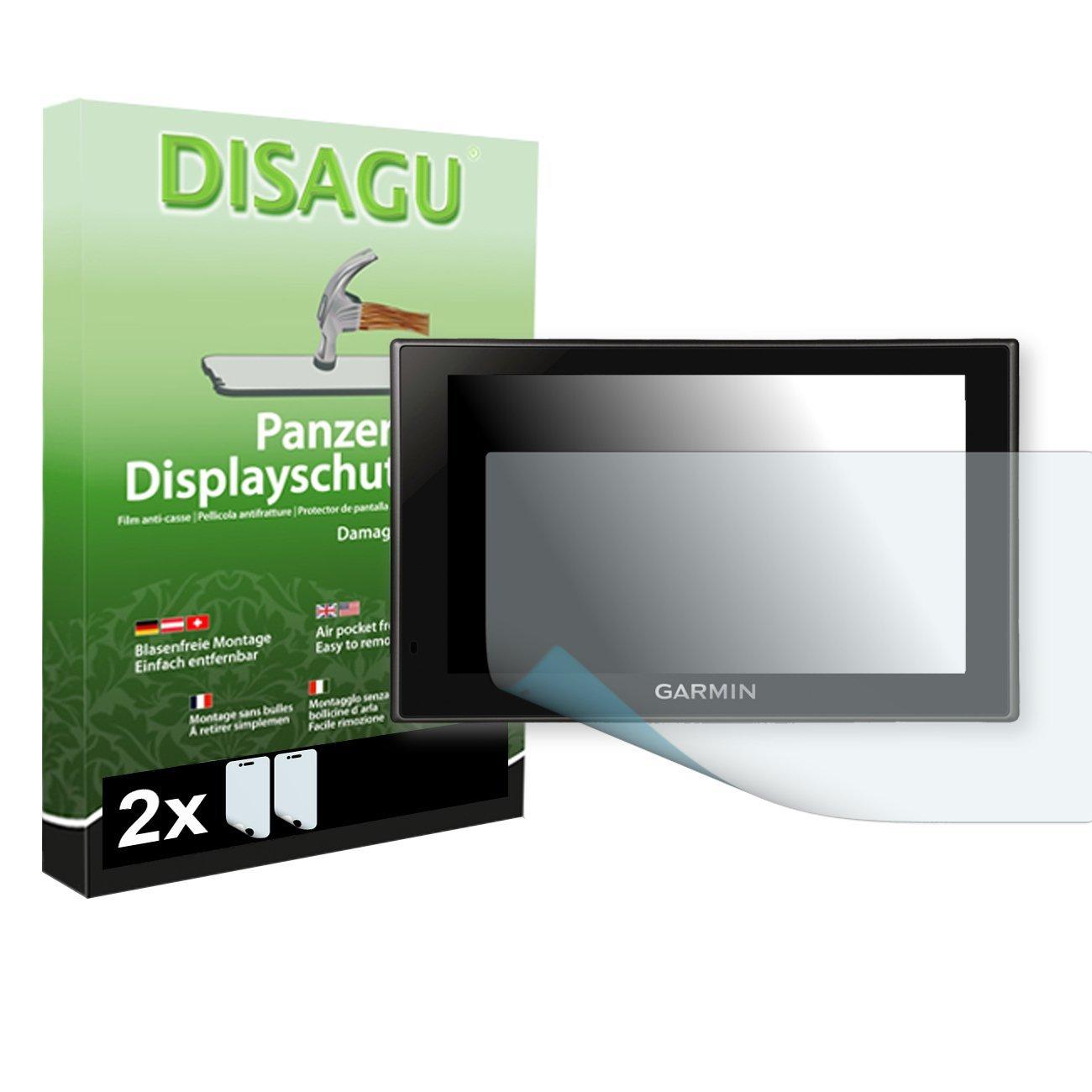 2 x DISAGU Armor screen protector for Garmin Camper 660 LMT screen fracture protection film