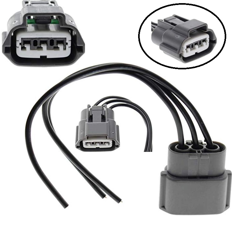 ignition coil connector plug wire harness pigtail wiring loom 3 wire female  for infiniti j48817102 645-787 - buy 3 pin connector wire harness  manufacturers,3 pin connector wire harness suppliers,3 pin connector wire  alibaba.com