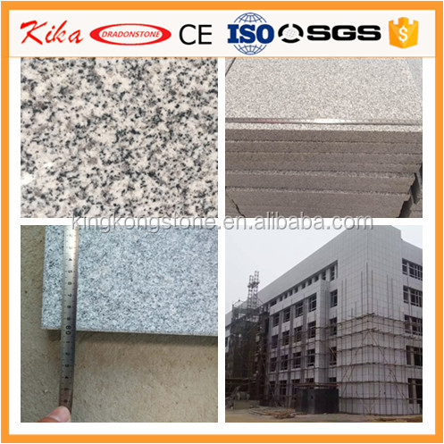 Factory supply Dalian G603 Grey Chinese Granite Flamed Tiles