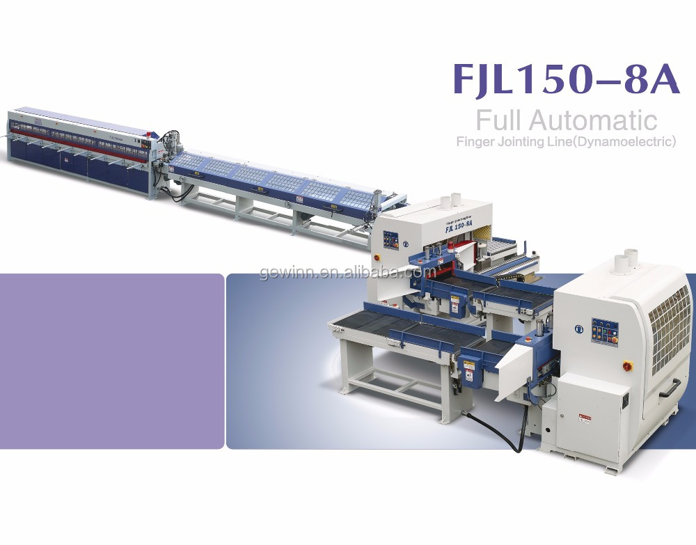 Woodworking Machinery Automatic Finger Joint Line Machine For Sale FJL150-8A