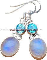 Silver Choke Jewelry Trendy Wholesale Accessories Sterling Settings Earrings