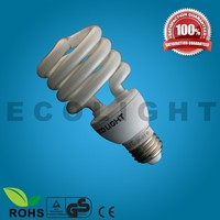 save up to energy! 24W half spiral energy saving lamp