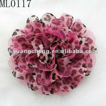 Pink leopard print lace flower hair accessories buy leopard print pink leopard print lace flower hair accessories mightylinksfo