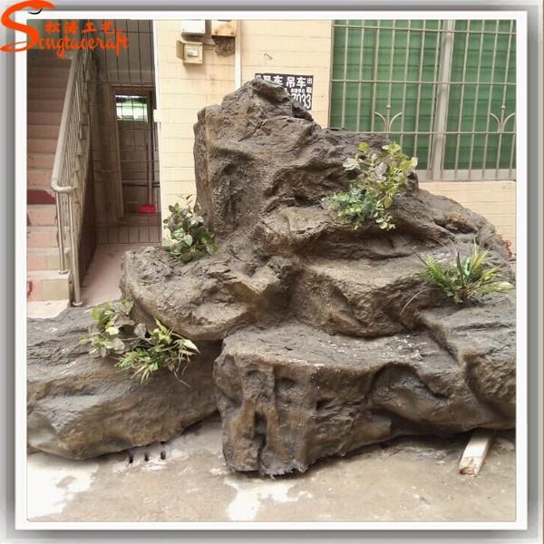 R aliste d coration cascade mur fontaines sculpture for Deco appartement rock