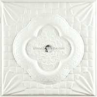 2015 Classic Faux Leather-carving Wall Panels lightweight partition wall panel