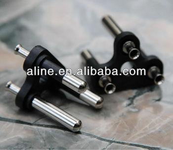 Thailand 3 pin plug inserts socket