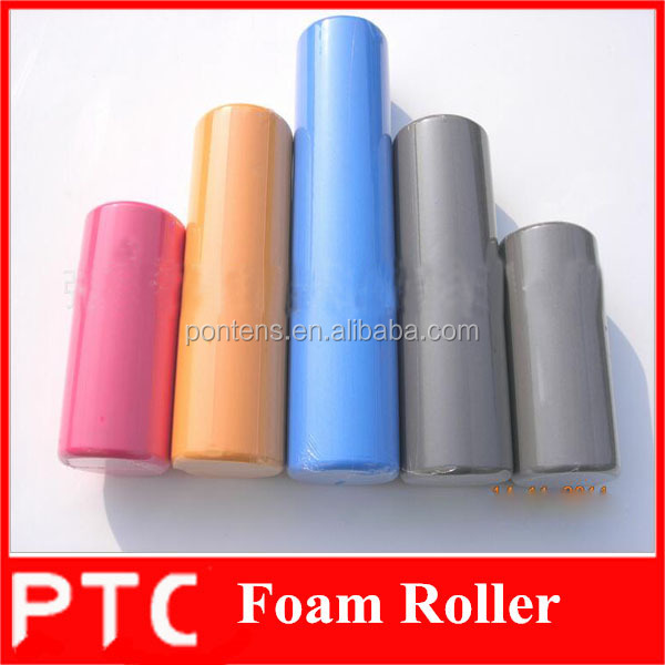 15*30cm Smooth surface eva foam roller/high density solid yoga foam roller