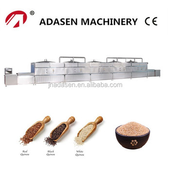 New products industrial microwave drying machine for quinoa