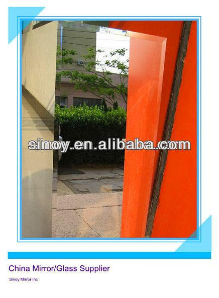 Reliable factory of reinforced mirror, toughened mirror, reinforced mirror with double Italy FENZI paint