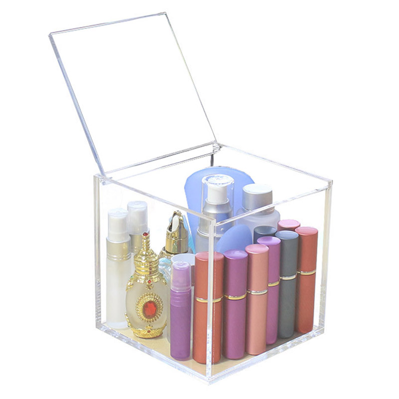 Acrylic Jewelry Cosmetic Lipstick Storage Display Boxes