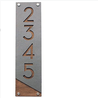 Powder Coated Metal Letters and Numbers for decoration signs
