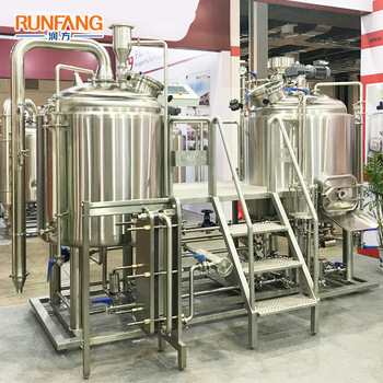 Brewhouse 500L Beer Fermentation Brasserie Brewing Equipment
