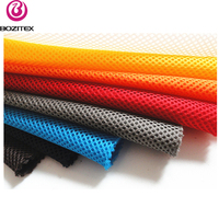 Knitted 3D air mesh fabric , air spacer mesh fabric sandwich mesh fabric for seat cover